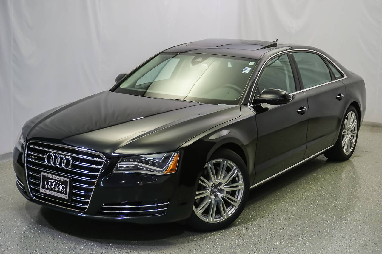 Pre Owned 2013 Audi A8 L 3 0l Sedan Near Hinsdale Um1184