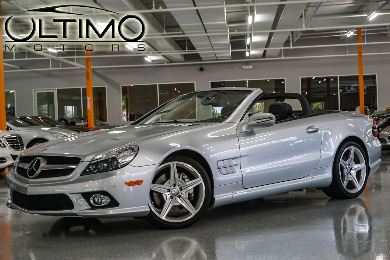 Pre owned 2011 mercedes benz sl class sl550 sport for Mercedes benz of westmont inventory