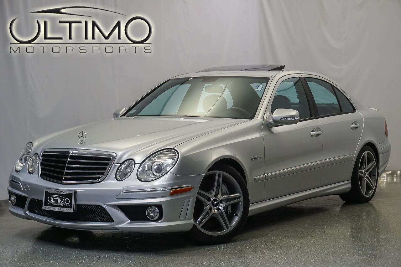 Pre owned 2007 mercedes benz e class 6 3l amg sedan near for Mercedes benz of westmont inventory
