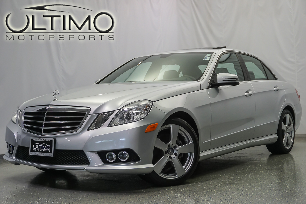 Pre owned 2010 mercedes benz e class e350 sport sedan near for Mercedes benz of westmont inventory