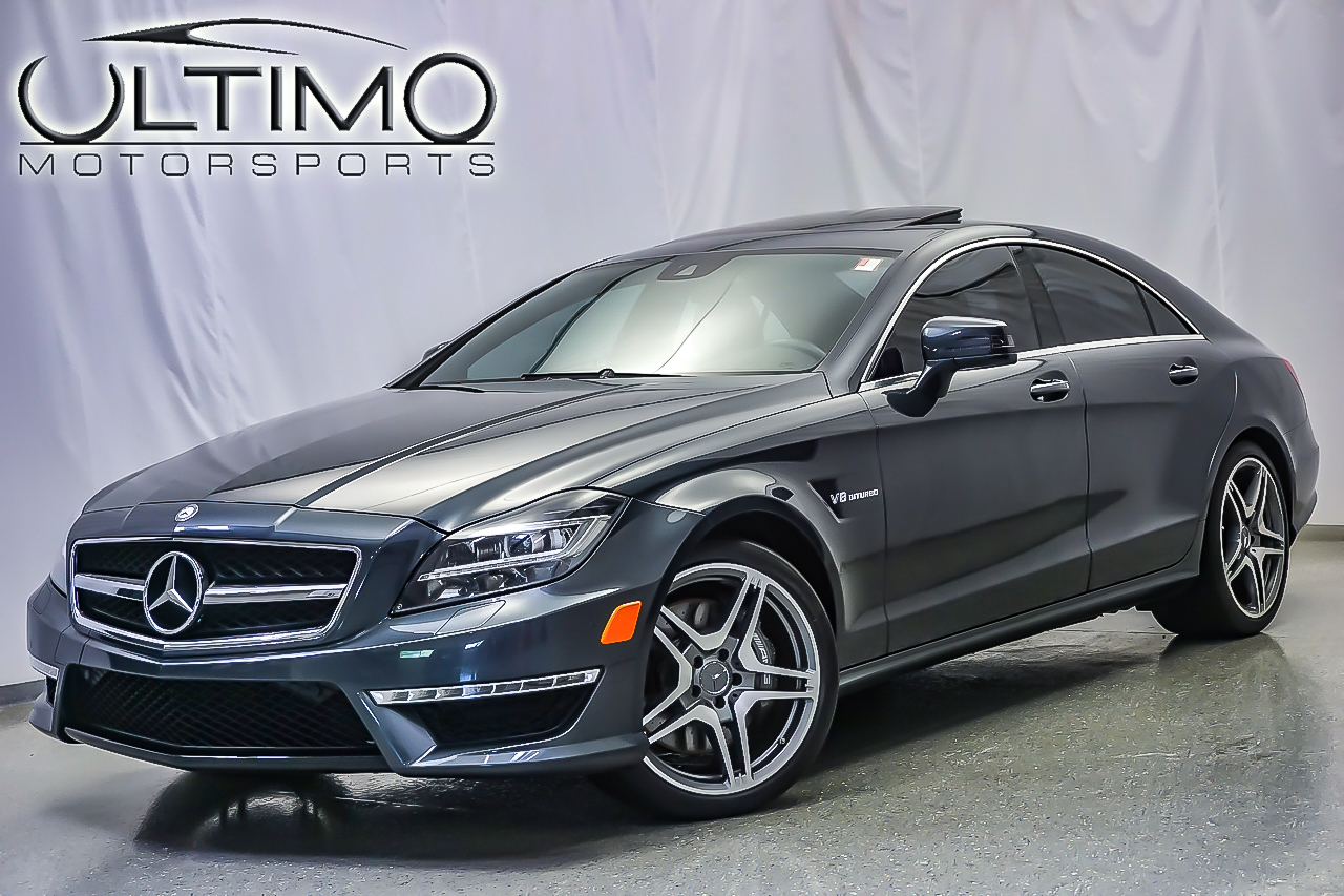 Pre owned 2012 mercedes benz cls cls63 amg sedan near for Mercedes benz of westmont inventory